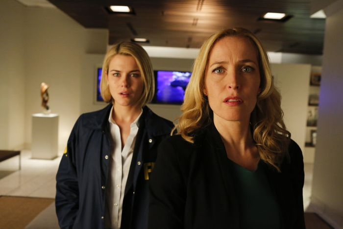 Crisis Rachael Taylor as Agent Susie Dunn, Gillian Anderson as Meg Fitch