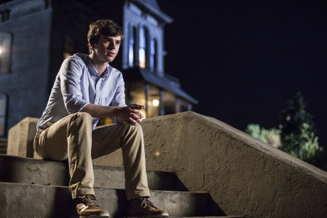 Freddie Highmore stars in A&E's 'Bates Motel' Mondays at 9/8c.