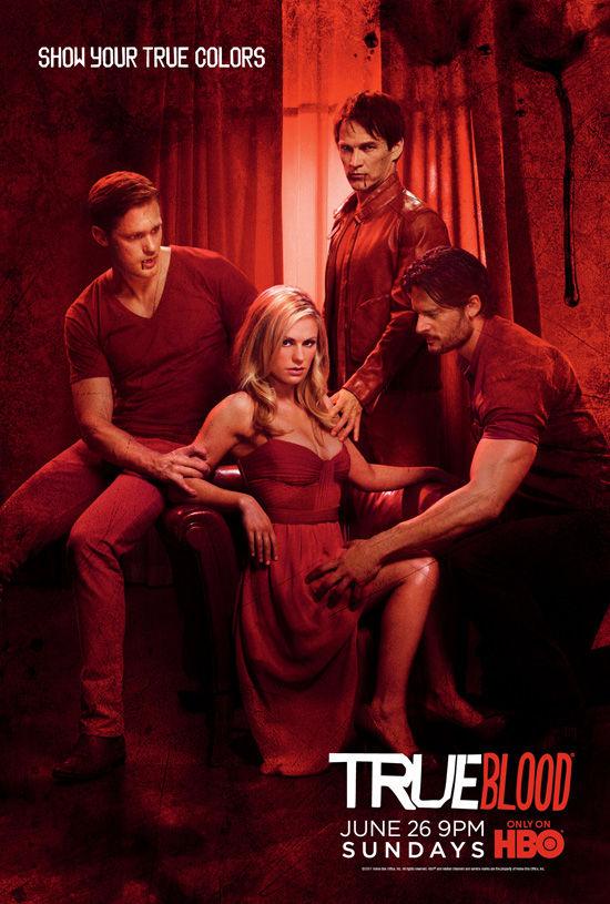 TRUE BLOOD Season 4 Poster HBO