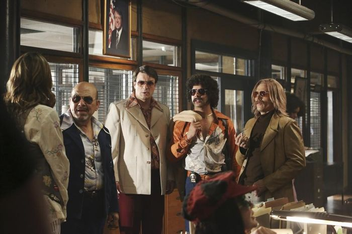 STANA KATIC, JOE POLITO, NATHAN FILLION, JON HUERTAS, SEAMUS DEVER