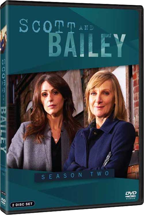 Scott And Bailey Season 1 DVD