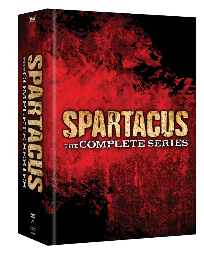 Spartacus The Complete Series DVD