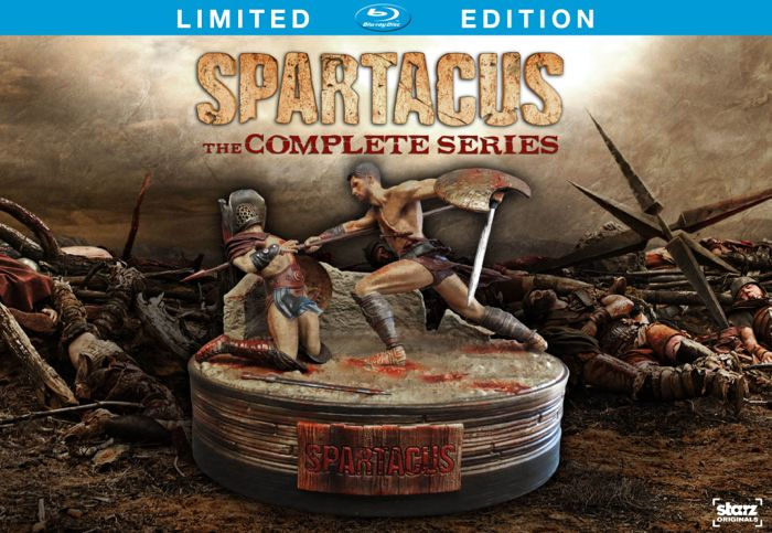 Spartacus The Complete Series Bluray Limited Edition