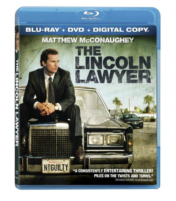 The Lincoln Lawyer Bluray 3D
