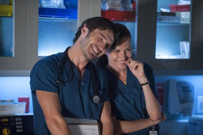 The Night Shift Season 1 Episode 3 | Eoin Macken as Dr. T.C. Callahan, Jill Flint as Jordan Alexander