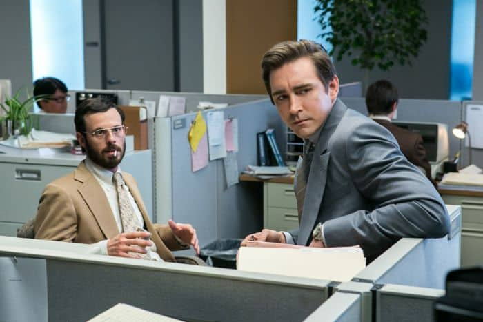 Halt And Catch Fire Scoot McNairy as Gordon Clark and Lee Pace as Joe MacMillan