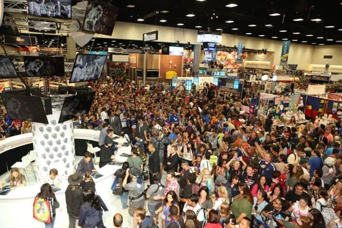 Supernatural Cast Comic Con 2014 09