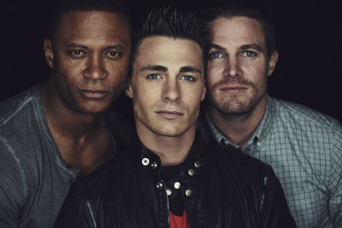 Arrow Cast Warner Bros Television Party San Diego Comic Con 1