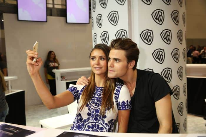 The Vampire Diaries Cast Comic Con 09