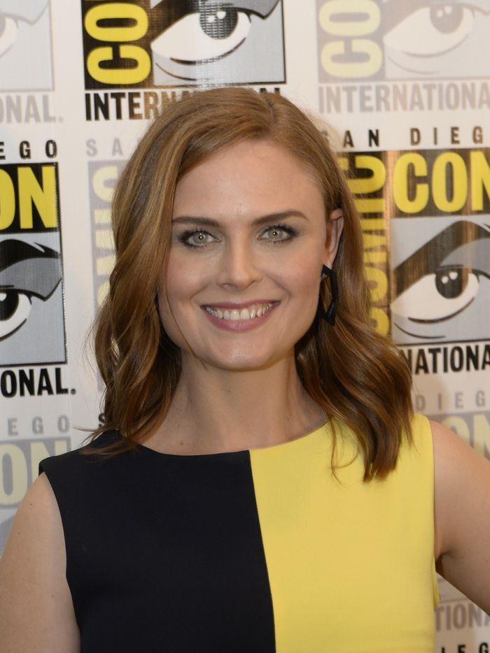 Emily Deschanel Bones Comic Con 2014