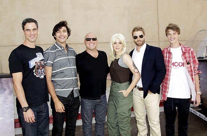 UNDER THE DOME Cast At Comic Con