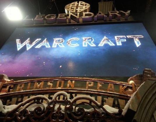 Warcraft Logo Comic Con