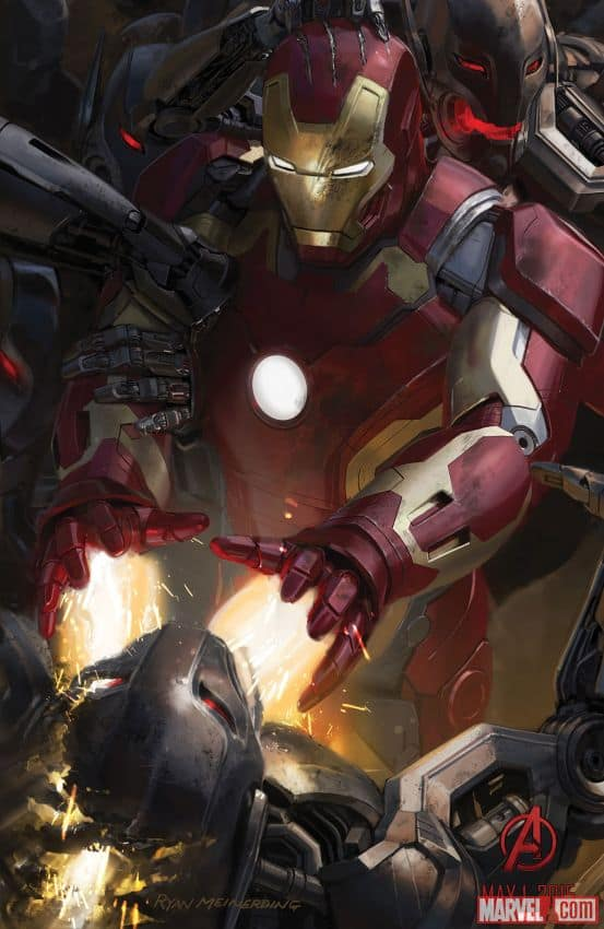 AVENGERS AGE OF ULTRON Comic Con Poster 2