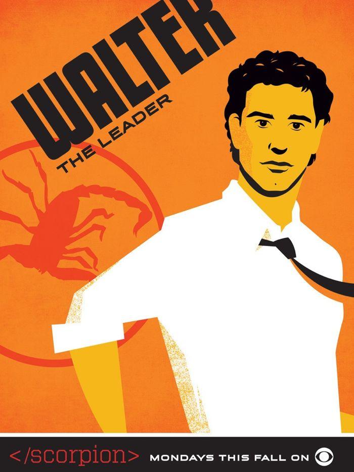 Scorpion Comic Con Poster Walter