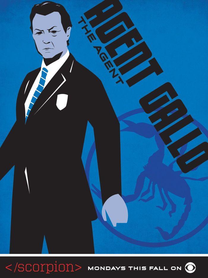 Scorpion Comic Con Poster Gallo