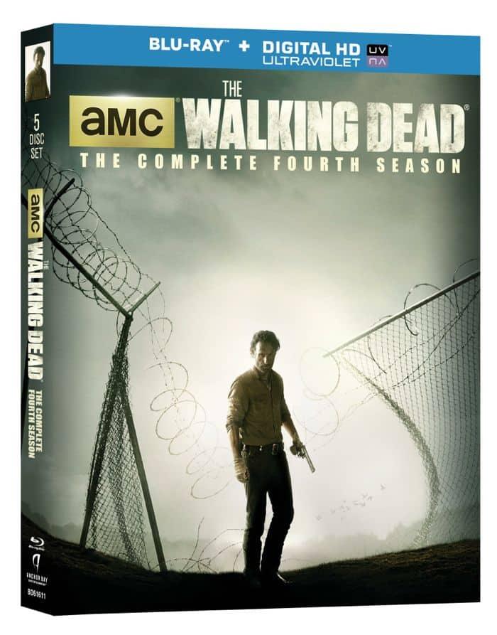 The Walking Dead Season 4 Bluray