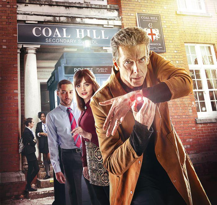 Doctor Who 8x06 BBC America 7