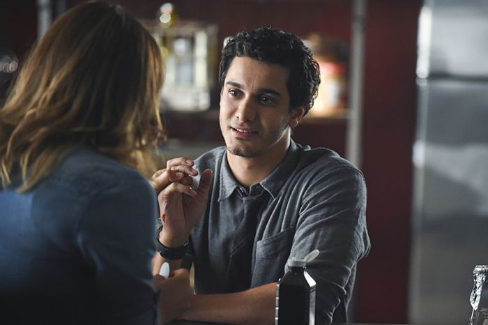 Katharine McPhee as Paige Dineen, Elyes Gabel as Walter O'Brien Scorpion