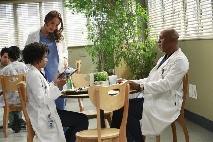 KELLY MCCREARY, CAMILLA LUDDINGTON, JAMES PICKENS JR. Grey's Anatomy