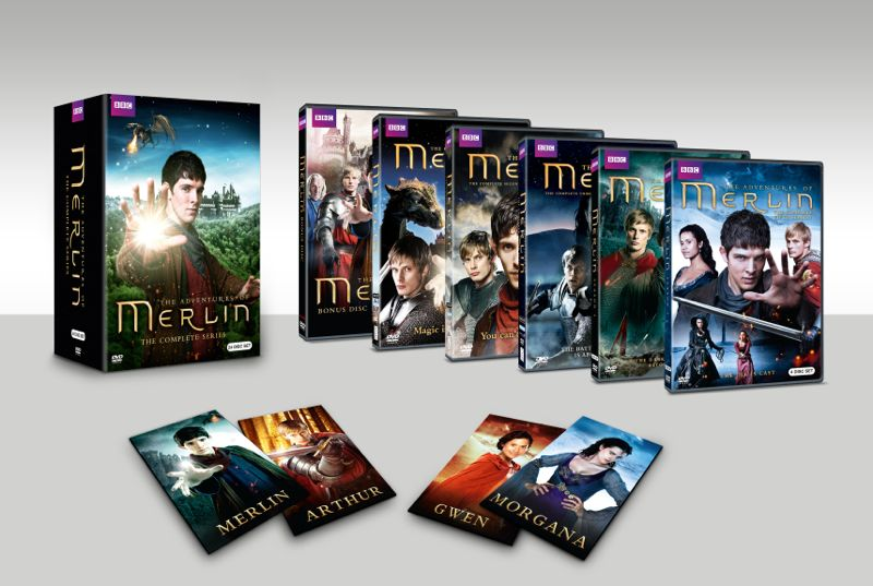 MERLIN BOXSET DVD