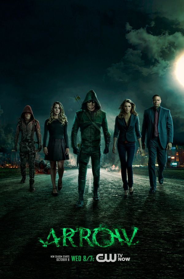 Arrow Season 3 Poster