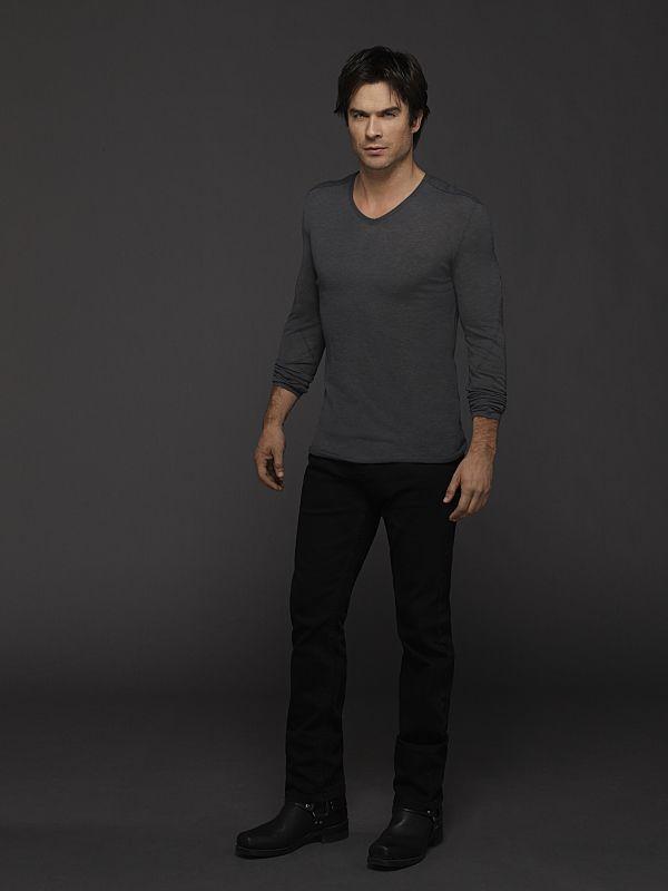 The Vampire Diaries Season 6 Ian Somerhalder as Damon