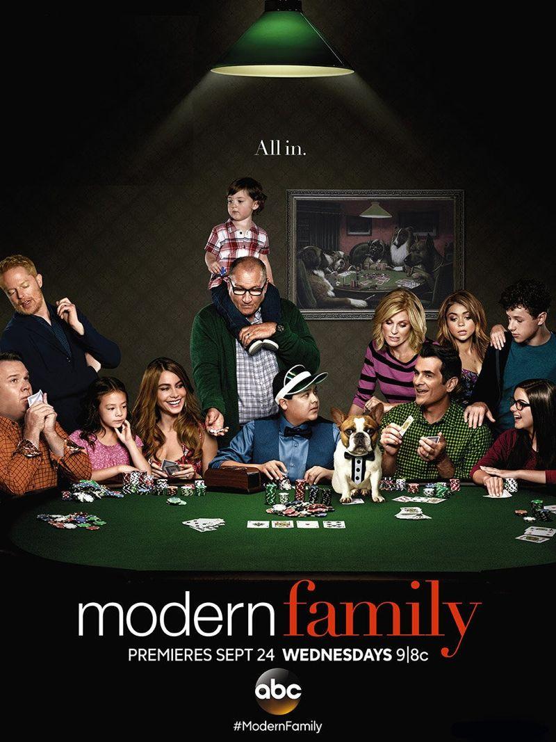 MODERN FAMILY Season 6 Poster