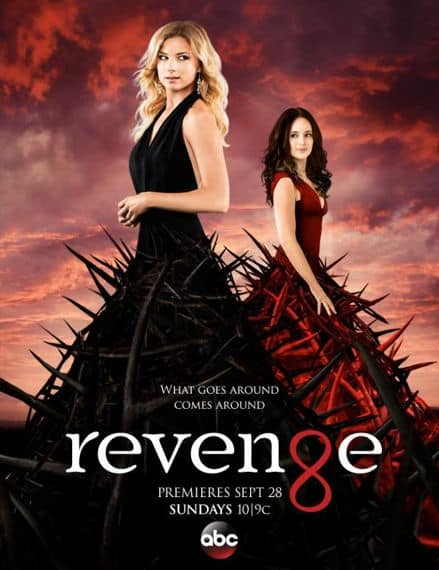 Revenge Season 4 Poster Emily VanCamp, Madeleine Stowe