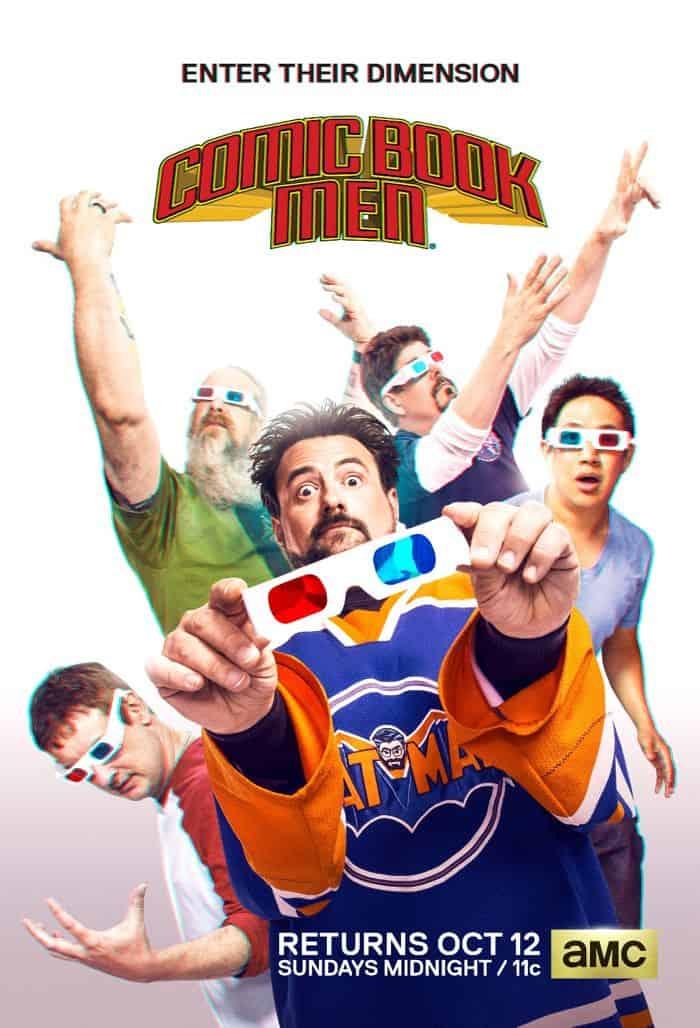 COMIC BOOK MEN Season 4 Poster
