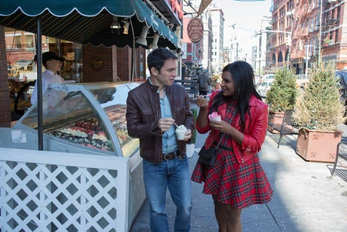 THE MINDY PROJECT: Mindy (Mindy Kaling, R) and Danny (Chris Messina, L) spend time together