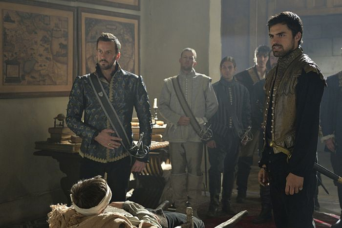 Reign Blood For Blood Craig Parker as Lord Narcisse and Sean Teale as Conde