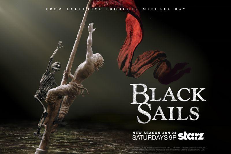 Black Sails Season 2 Poster Starz