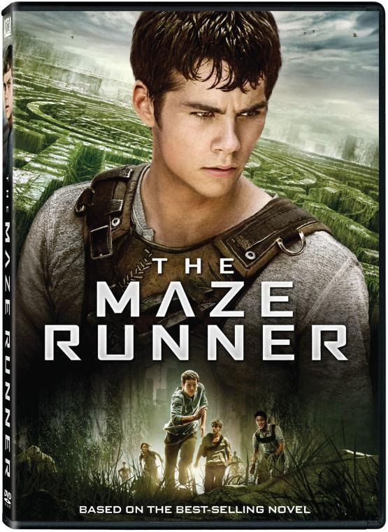 The Maze Runner DVD Box Cover Case