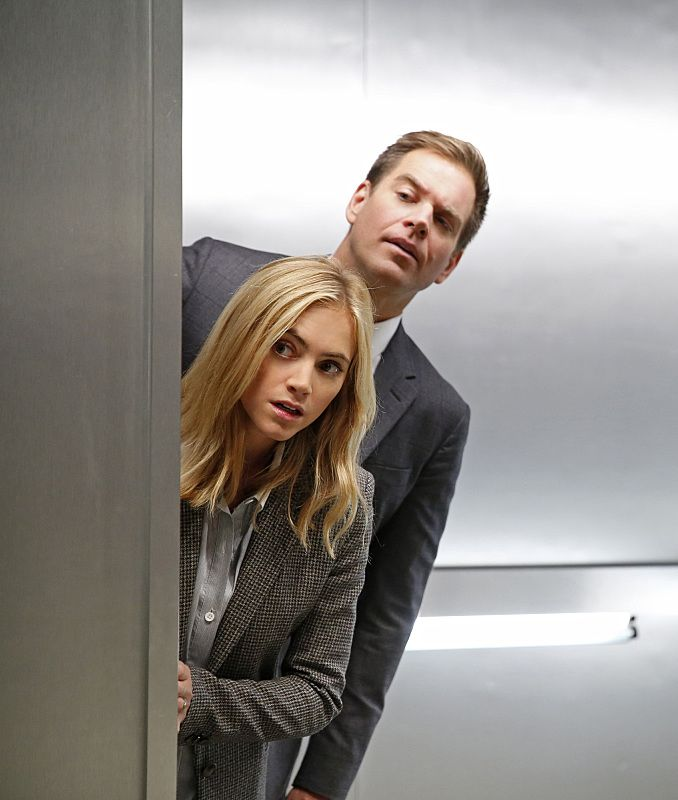 Emily Wickersham and Michael Weatherly NCIS Semper Fortis