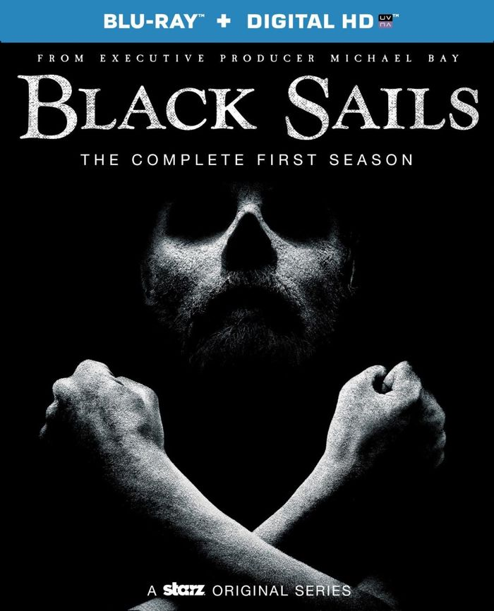BLACK SAILS Season 1 Blu-ray HD Cover
