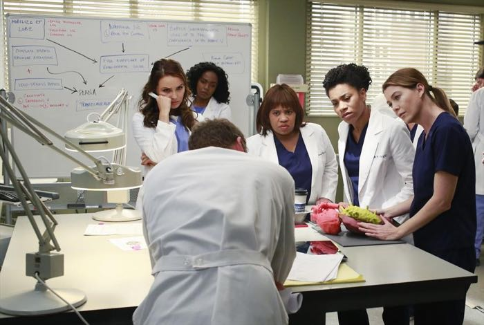 CAMILLA LUDDINGTON, JERRIKA HINTON, CHANDRA WILSON, KELLY MCCREARY, ELLEN POMPEO Grey's Anatomy