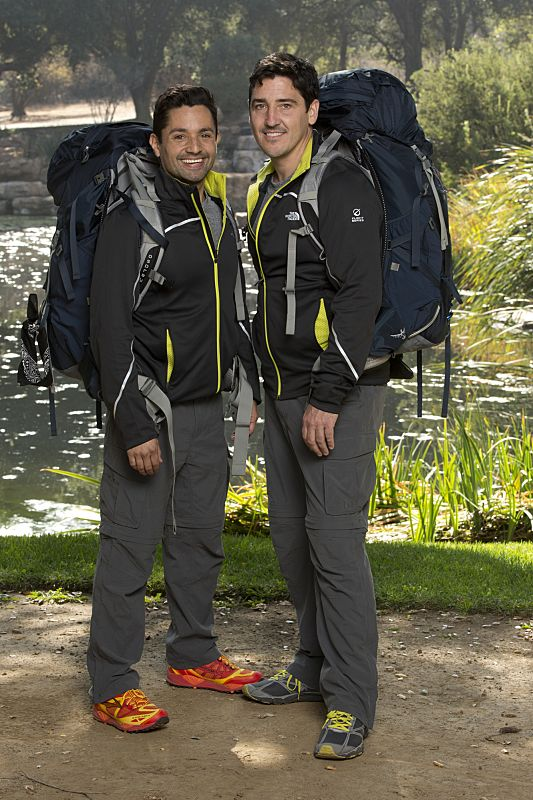 Harley Rodriguez & Jonathan Knight of THE AMAZING RACE