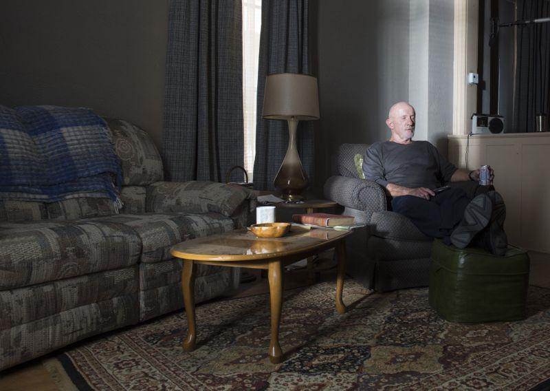 Jonathan Banks as Mike Ehrmantraut - Better Call Saul _ Season 1, Episode 5 - Photo Credit: Ursula Coyote/AMC
