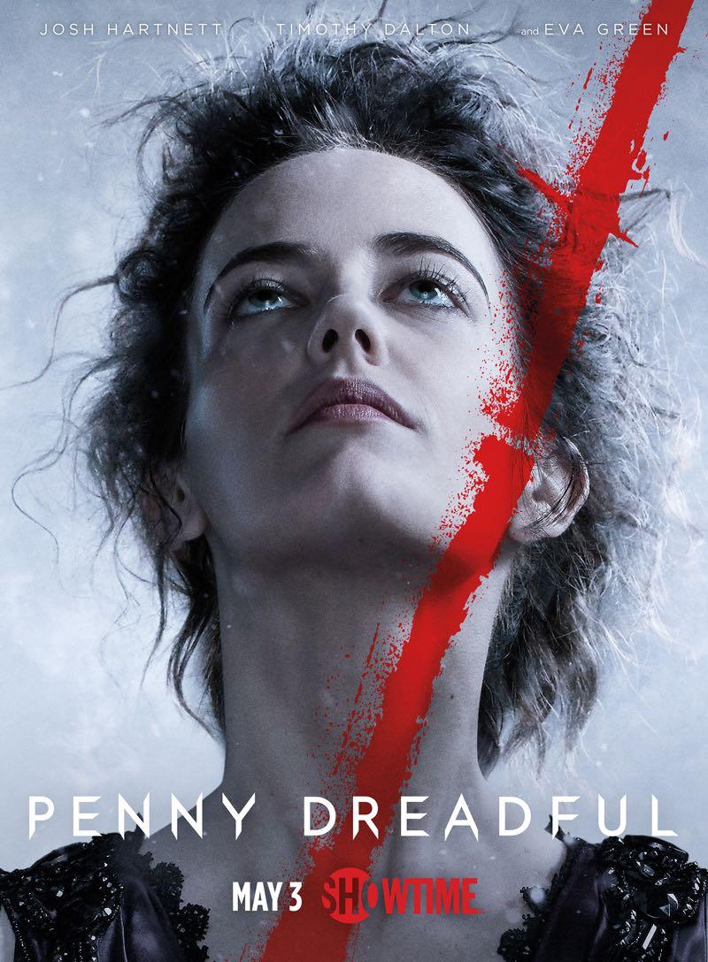 Penny Dreadful Season 2 Poster Eva Green
