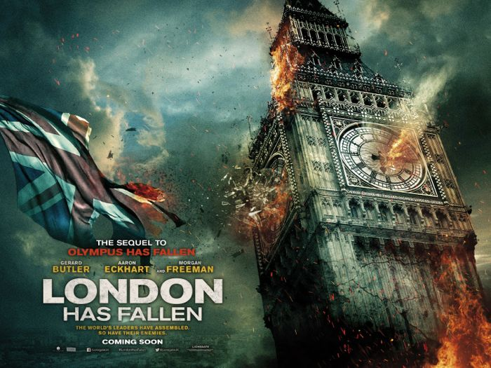 LONDON HAS FALLEN Movie Poster 1