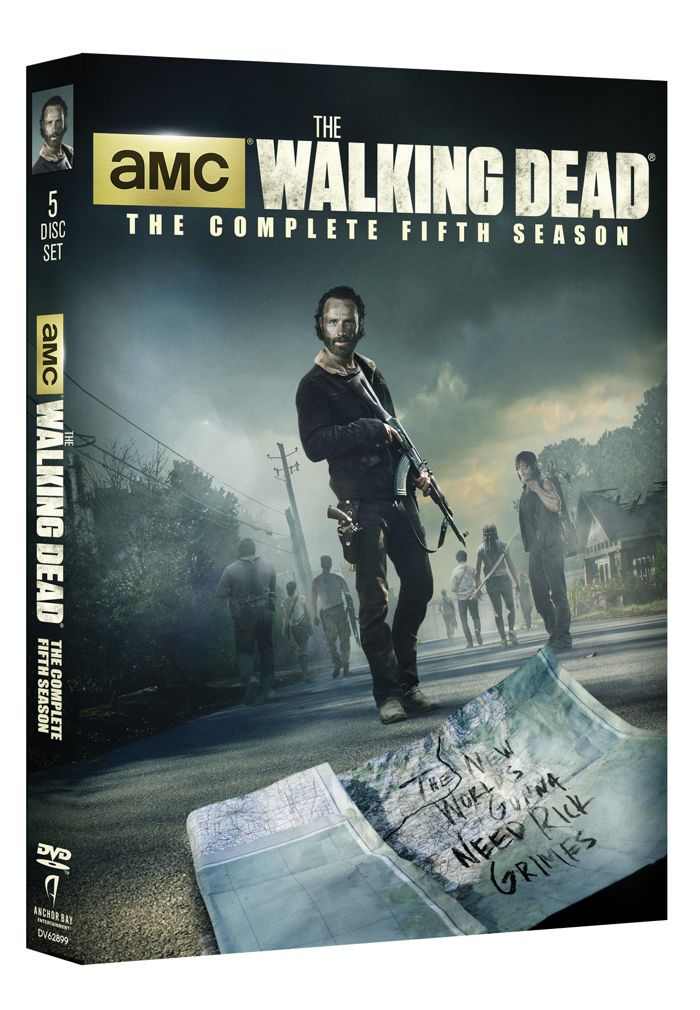 The Walking Dead Season 5 DVD