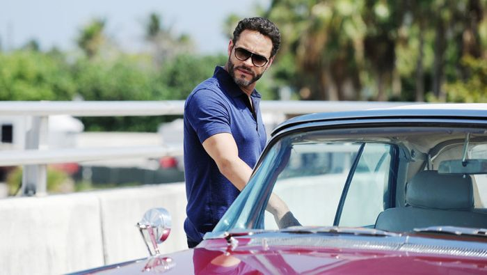 "GRACELAND -- ""Chester Cheeto"" Episode 302 -- Pictured: Daniel Sunjata as Paul Briggs -- (Photo by: Jeff Daly/USA Network)"