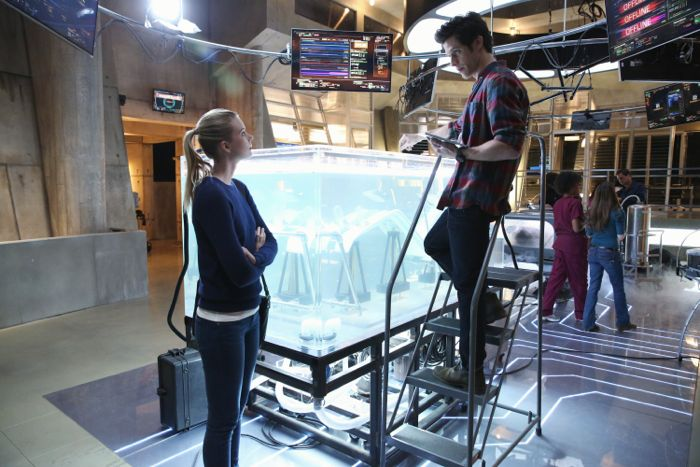 "STITCHERS - ""A Stitch in Time"" - Highly intelligent and emotionally distant, Kirsten Clark has an aptitude for technology but never expected that she'd be hacking into the minds of the recently deceased, in the series premiere of ""Stitchers,"" airing Tuesday, June 2, 2015 at 9:00PM ET/PT on ABC Family. (ABC Family/Adam Taylor) EMMA ISHTA, KYLE HARRIS"