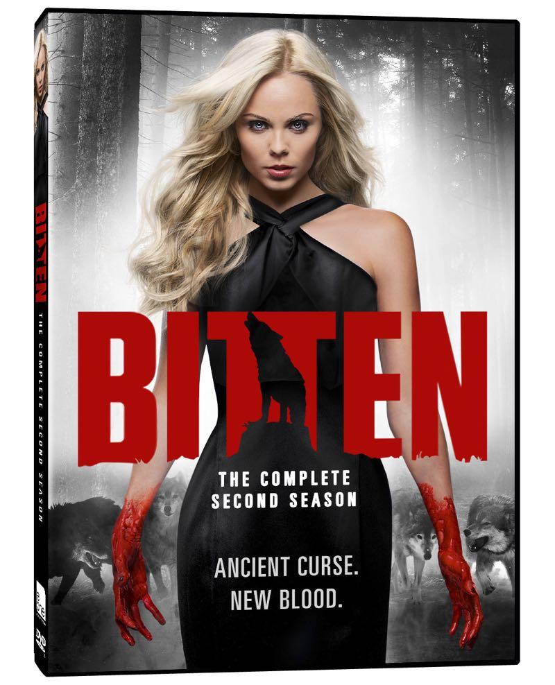 Bitten Season 2 DVD Cover Artwork