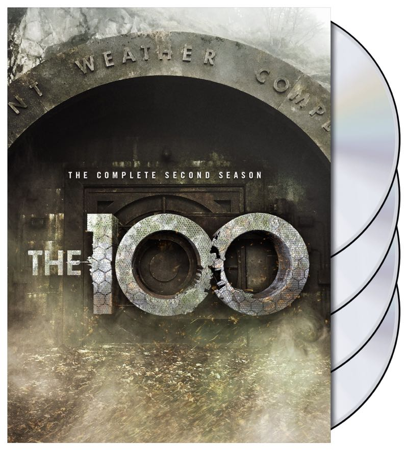 The 100 Season 2 DVD