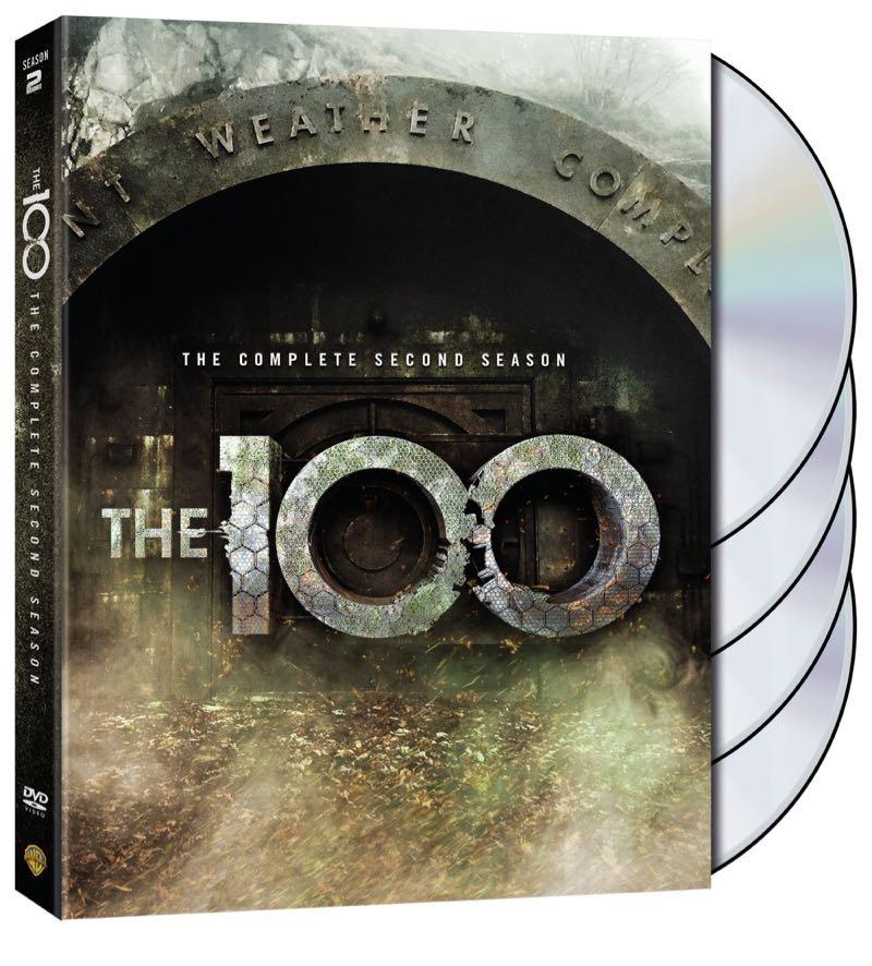 The 100 Season 2 DVD Cover Artwork