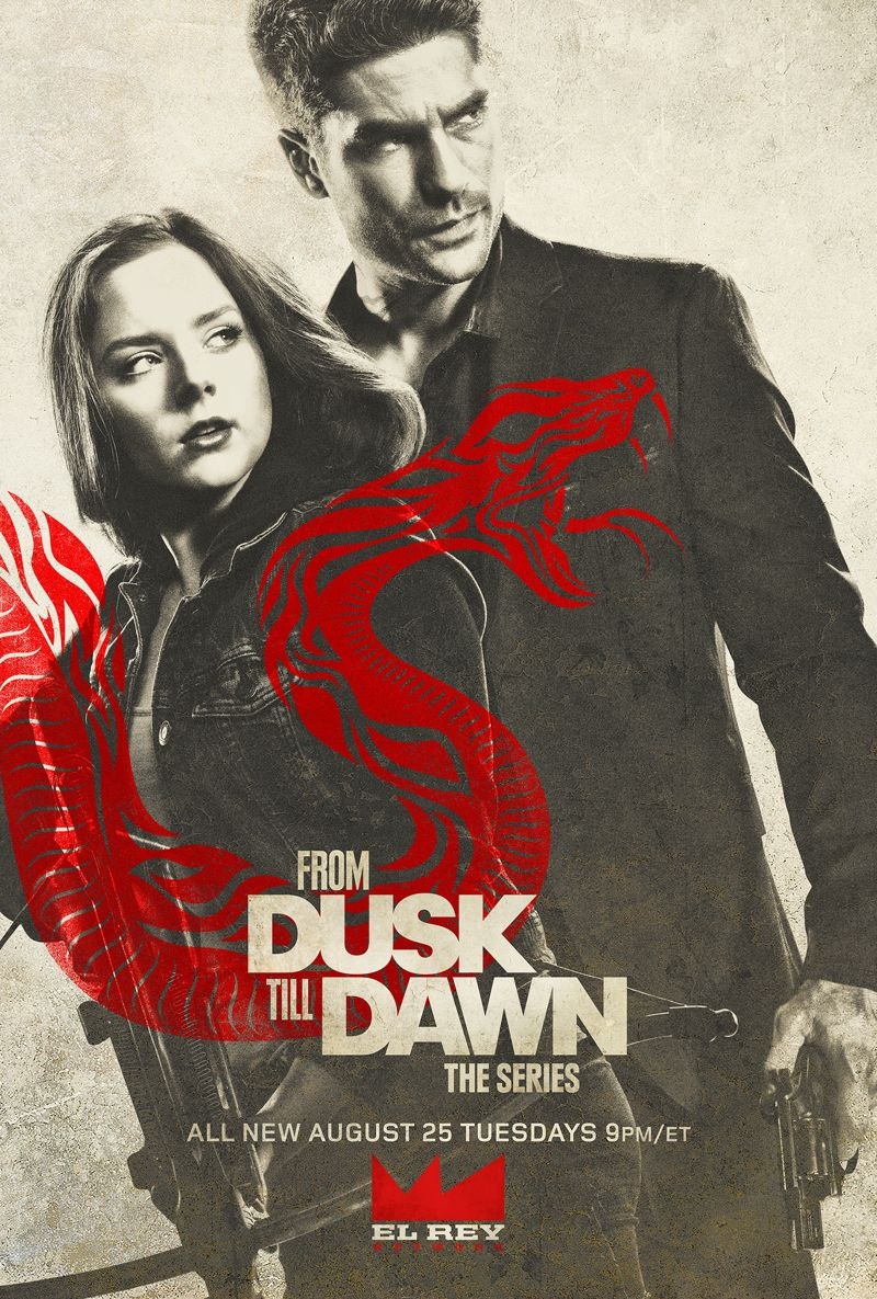 From Dusk Till Dawn El Rey Season 2 Poster