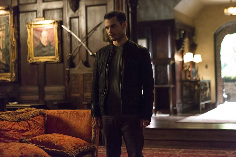 """The Vampire Diaries -- """"Live Through This"""" -- Image Number: VD705a_0151.jpg -- Pictured: Michael Malarkey as Enzo -- Photo: Eli Joshua Adé/The CW -- © 2015 The CW Network, LLC. All rights reserved."""