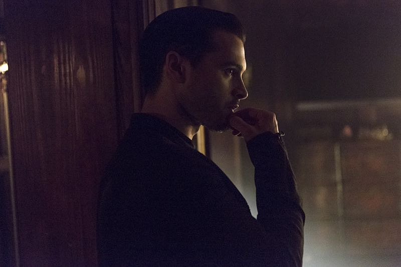 """The Vampire Diaries -- """"Live Through This"""" -- Image Number: VD705a_0014.jpg -- Pictured: Michael Malarkey as Enzo -- Photo: Eli Joshua Adé/The CW -- © 2015 The CW Network, LLC. All rights reserved."""