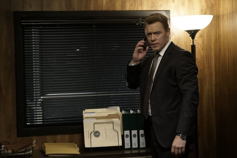 "THE BLACKLIST -- ""Sir Crispin Crandall"" Episode 306 -- Pictured: Diego Klattenhoff as Donald Ressler -- (Photo by: Peter Kramer/NBC)"